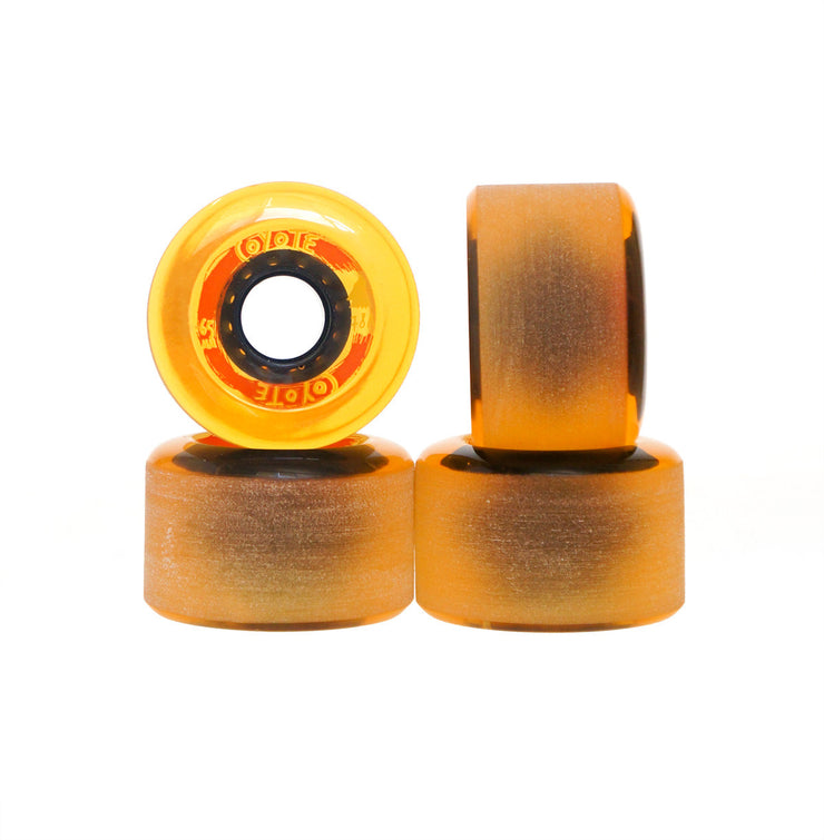 Coyote Wheels - Translucent Yellow - 65mm / 78A - Set