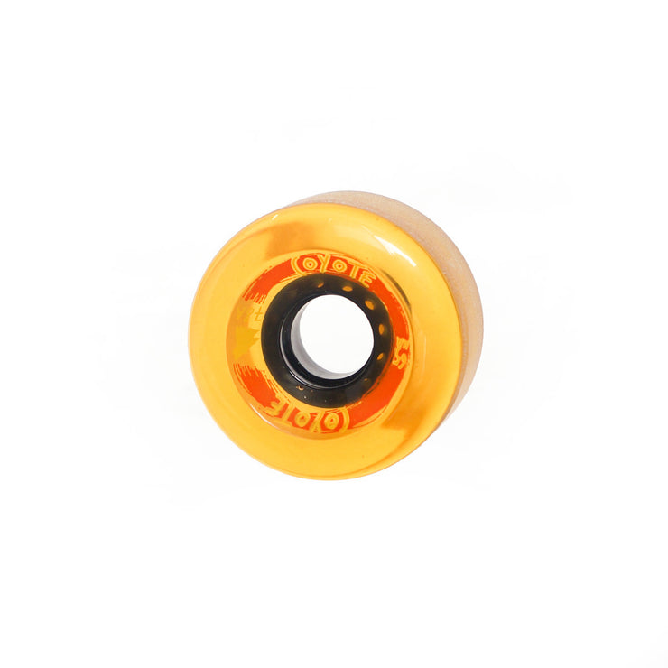Coyote Wheels - Translucent Yellow - 65mm / 78A - Single