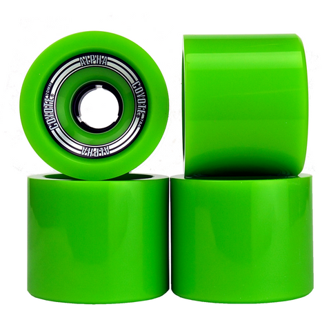 Coyote Alpha Wheels - Green - 70mm / 78A