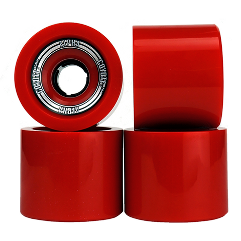 Coyote Alpha Wheels - Red - 70mm / 78A