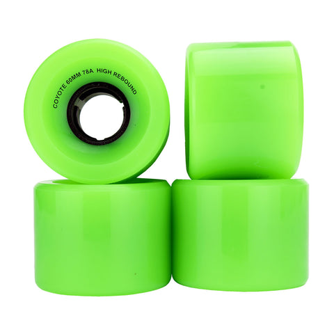 Coyote Cruiser Wheels - Green - 60mm / 78A