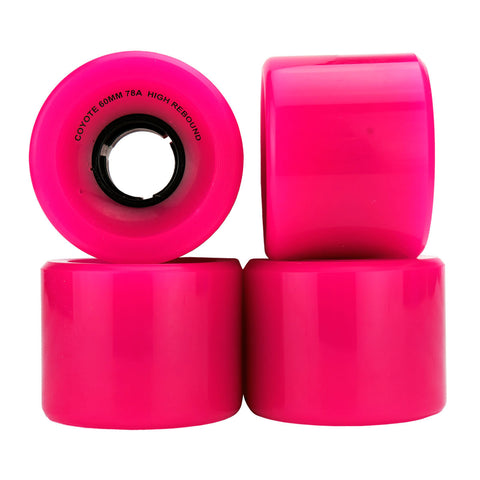 Coyote Cruiser Wheels - Pink - 60mm / 78A