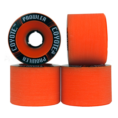 Coyote Prowler Wheels - Orange - 72mm / 78A