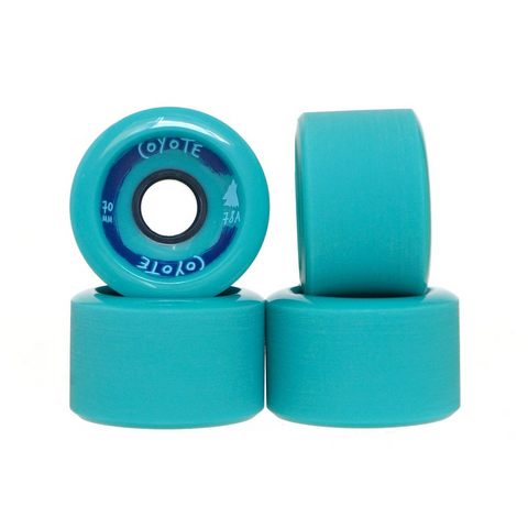 Coyote Wheels - Seafoam - 70mm / 78A
