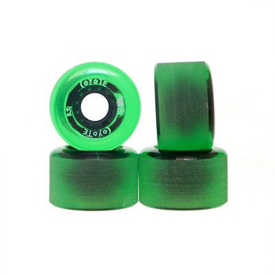Coyote Wheels - Translucent Green - 65mm / 78A