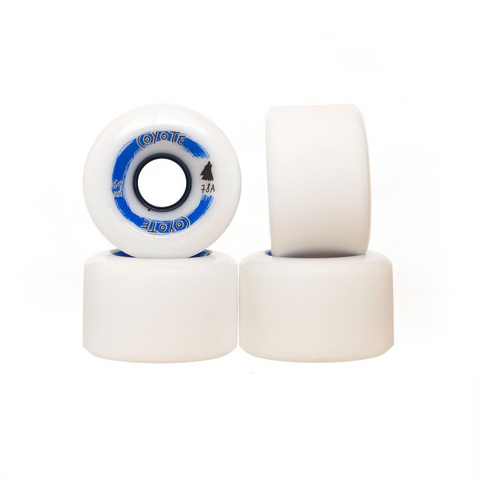 Coyote Wheels - White - 65mm / 78A