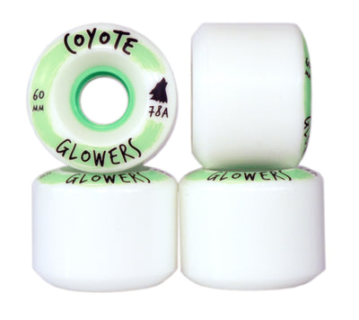 "Coyote Wheels  Glowers ""Glow in the Dark"" 60mm"
