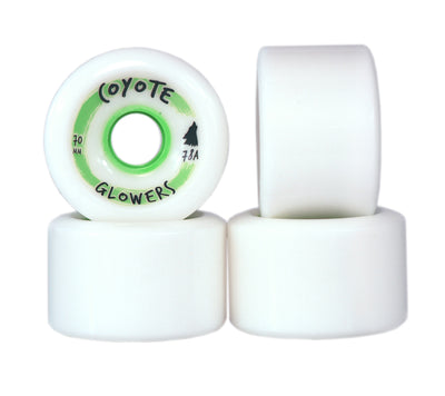 "Coyote Wheels  Glowers ""Glow in the Dark"" 70mm"