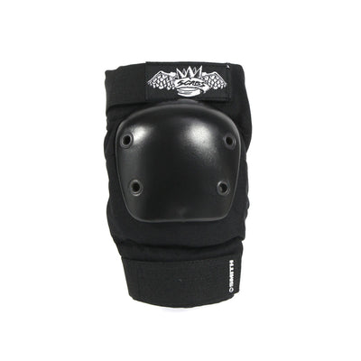 Smith Scabs - Crown Elbow Pad - Black - Front