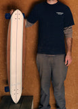 "Current - 47"" Longboard Cruiser Skateboard - Complete"