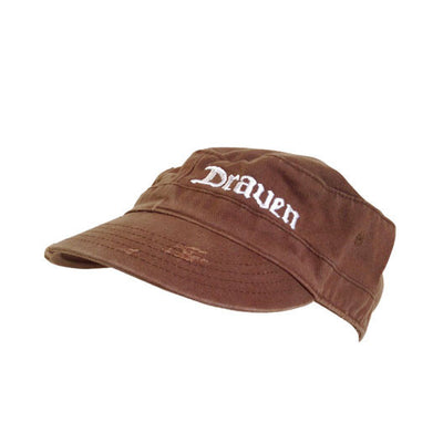 Draven Army Cap in Brown