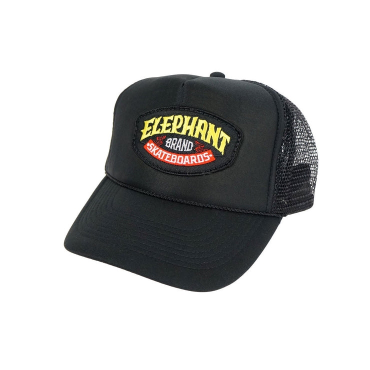 Elephant Logo Patch Trucker