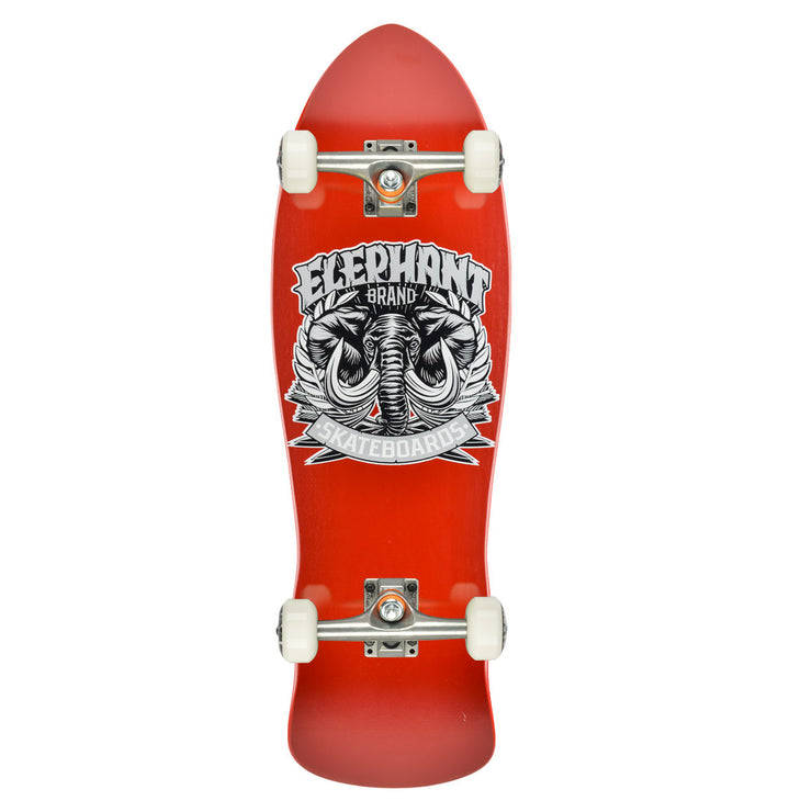 "Elephant Brand Street Axe Red Complete - 9.5""x32"" Bottom"