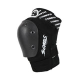Black Elite Knee Pad - Side Shot