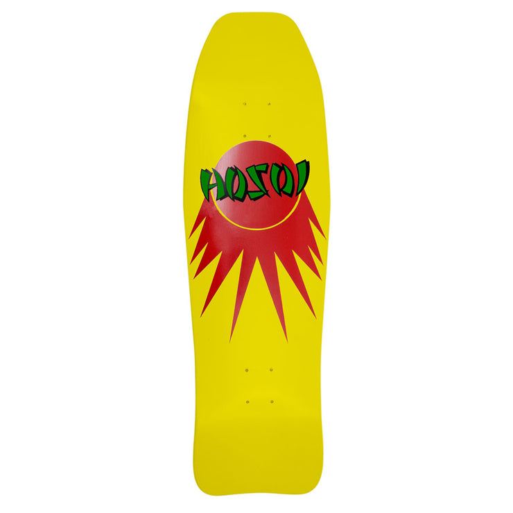 "Hosoi Skateboards Fish 83 Deck- 9.875""x33""- Yellow"