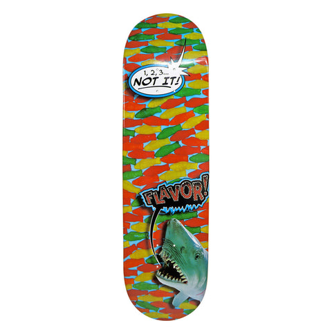 "Flavor Shark Attack Deck - 7.75""x31.5"" Bottom"