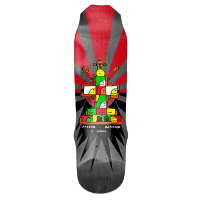 "Hosoi Skateboards Gonz 93 Deck- 9""x33""- Black"