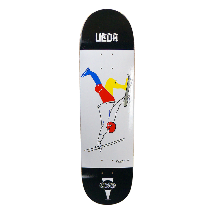 "Hosoi Pro Team: Handplant Series - Lincoln Ueda 8.25"" x 32.5"" Deck"