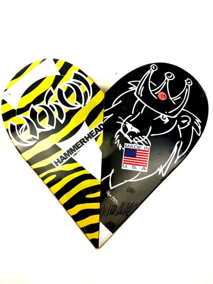 Skateboard Heart Art #15