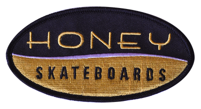Honey Brand Embroidered Patch