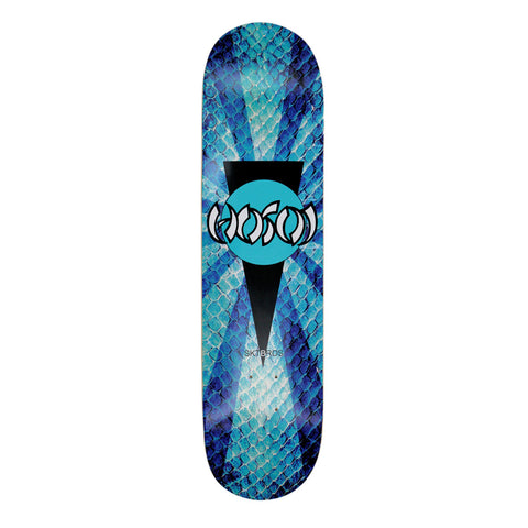 "Hosoi Skateboards Blue Snakeskin Deck- 8""x32"""