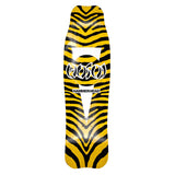 "Hosoi Skateboards Zebra Hammerhead Deck– 8.75""x31.75""- Yellow"
