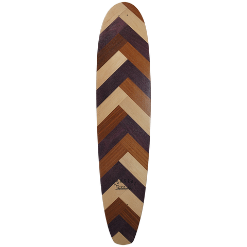 Koastal Holiday 2019 Santa Catalina Skateboard - Deck