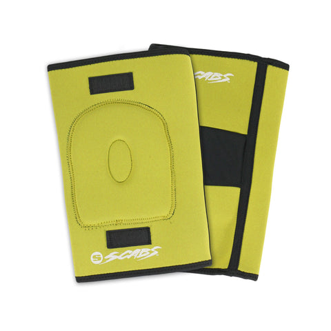 Smith Scabs - Knee Gasket - Yellow - Front & Back