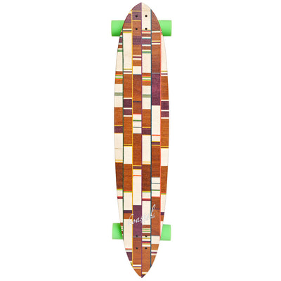 "Koastal Meatloaf Current - 47"" Longboard Cruiser Skateboard - Complete"
