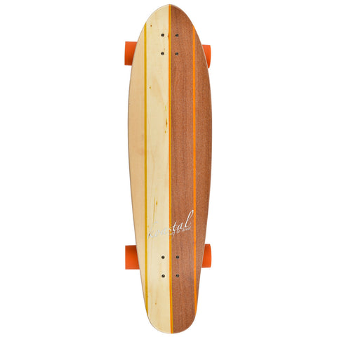 "Two Face - 37"" Longboard Skateboard - Complete"