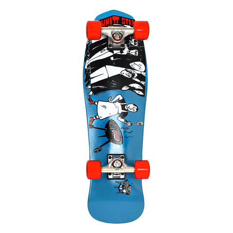 "Schmitt Stix Joe Lopes Mini Cruiser Complete Blue - 8.5"" x 28"""