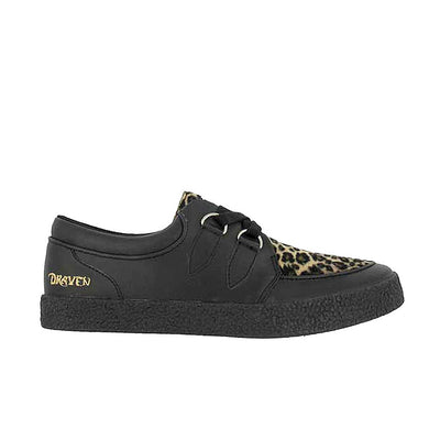 Draven Special Leopard Creepers Men's Shoes
