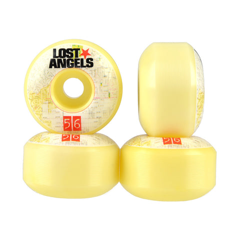 Lost Angels 56mm City Map Wheels