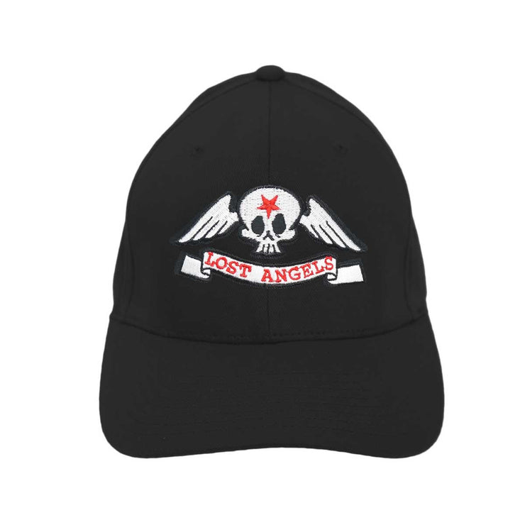 Lost Angels Skull Hat- Black