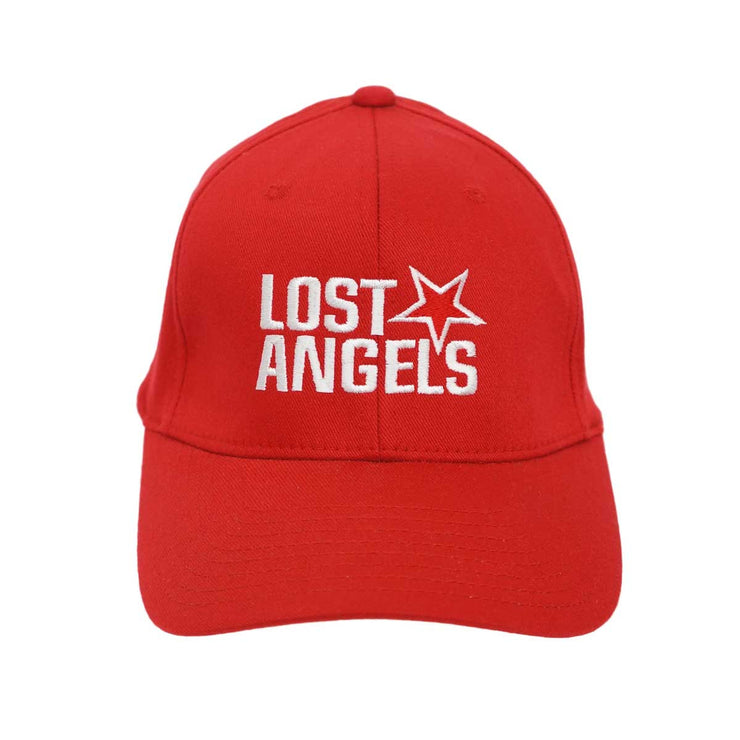 Lost Angels Logo Hat- Red