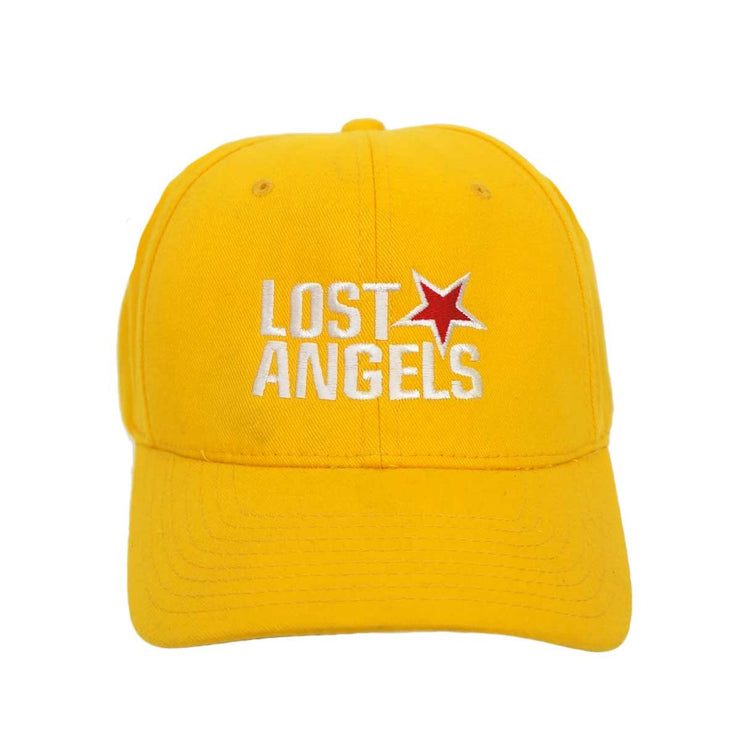 Lost Angels Logo Hat- Yellow