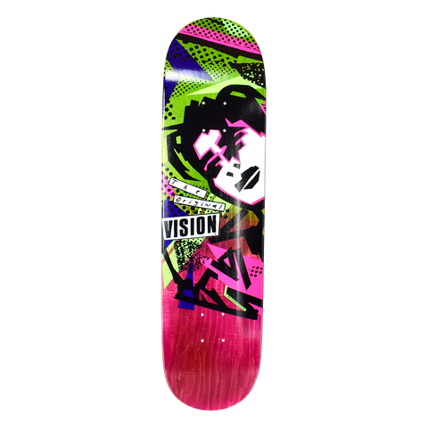 Vision Original  MG Deck- Stain Fade PNK/GRN
