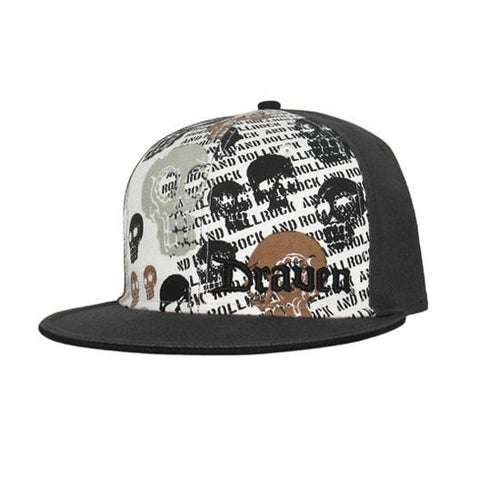 Draven Muerto Hat - Black/White