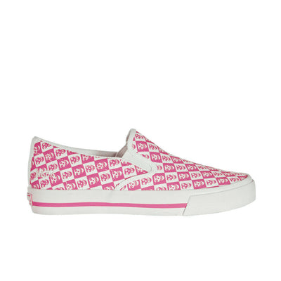 Draven Misfits Checkered Slip On Women's Shoes