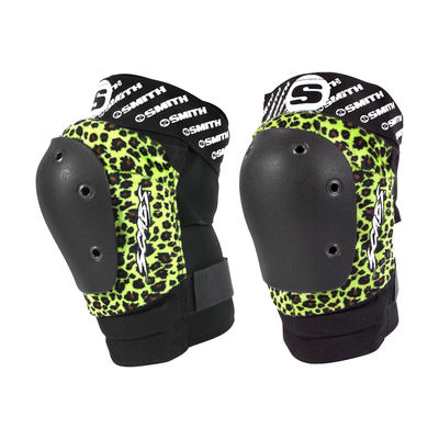Smith Scabs - Leopard Elite Knee Pad - Green