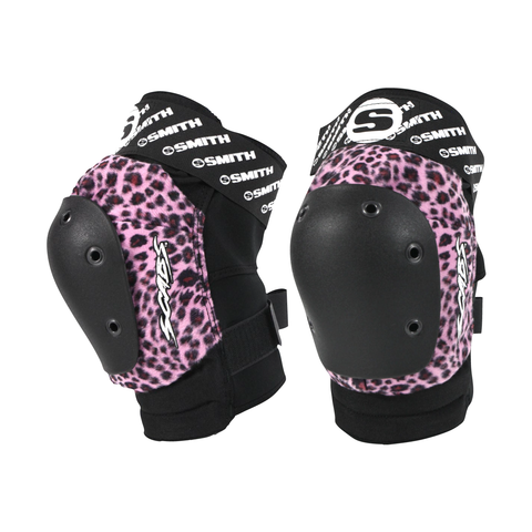 Smith Scabs - Leopard Elite Knee Pad - Pink