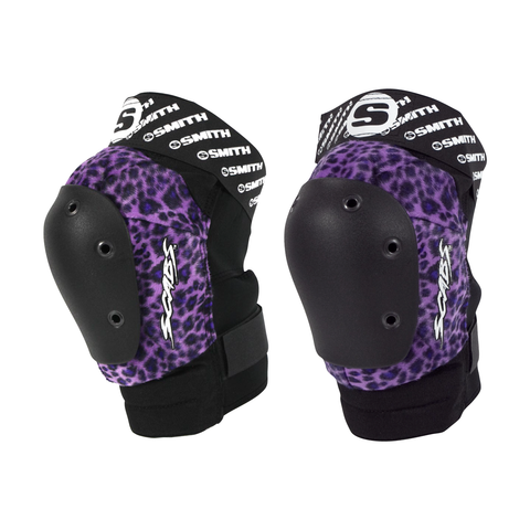 Smith Scabs - Leopard Elite Knee Pad - Purple