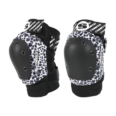 Smith Scabs - Leopard Elite Knee Pad - White