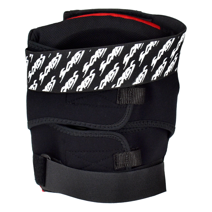 Scabs Skate Knee Pads - Black/Red