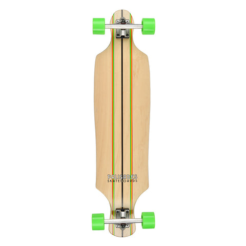"Palisades Rasta Racer Top Mount Complete- Natural- 10.125""x39.75"""