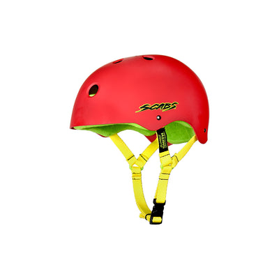 Smith Scabs -Crown Helmet Soft Liner-Red
