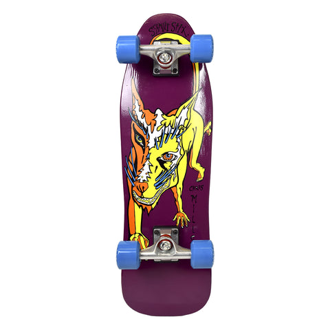 "Schmitt Stix Chris Miller Mini Cruiser Complete Purple - 8.5"" X 28.125"""