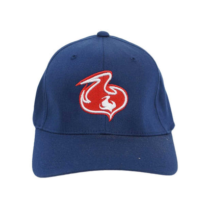 Shuvit Flame Logo Hat- Blue