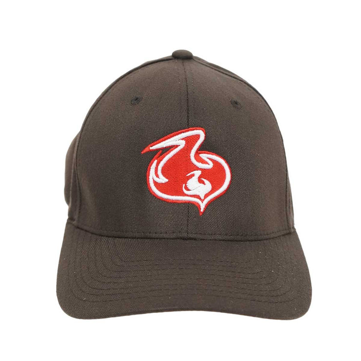 Shuvit Flame Logo Hat- Brown