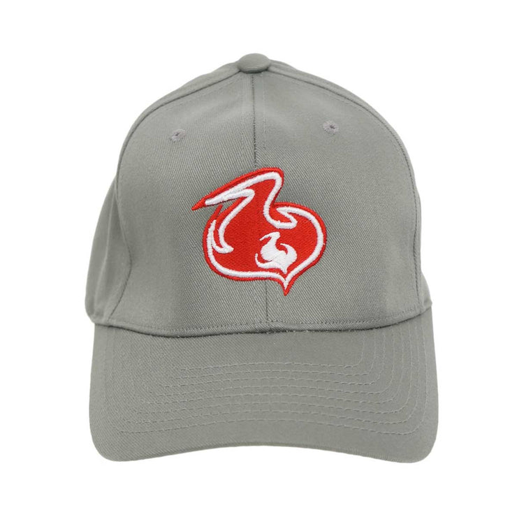 Shuvit Flame Logo Hat- Grey
